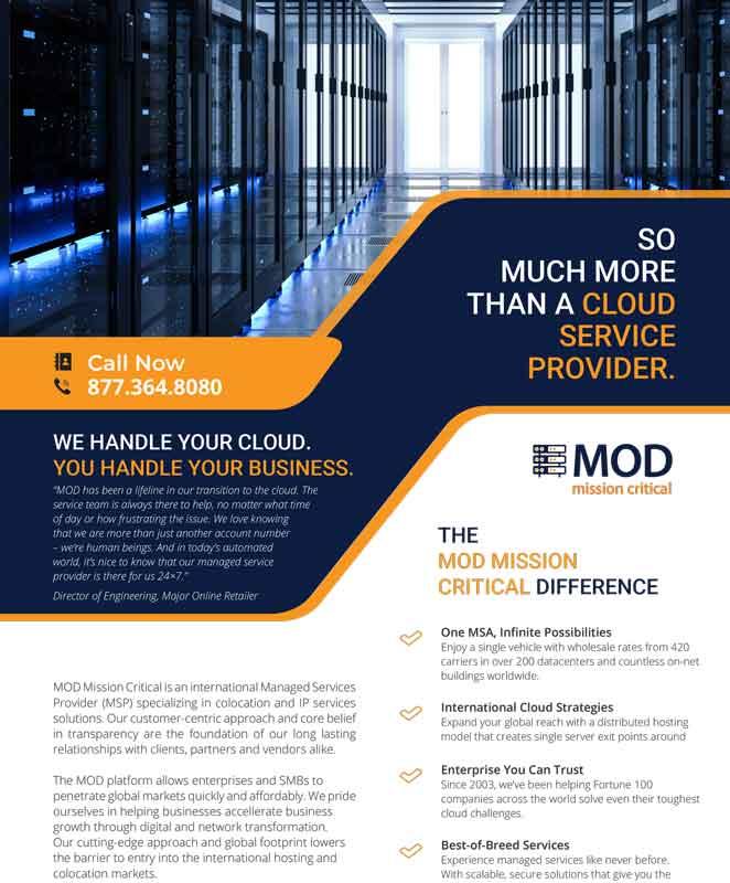 MOD Overview Data Sheet